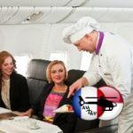 Авиабилеты: как заказать спецпитание в самолете?